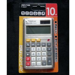 ジェントス(GENTOS)の[新品]電卓(オフィス用品一般)