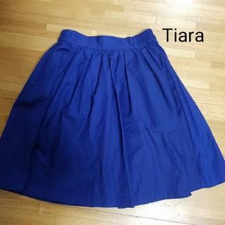 ティアラ(tiara)のTiara スカート(ひざ丈スカート)