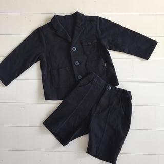 コムサイズム(COMME CA ISM)のたま様専用★COMME CA ISM 男の子 綿スーツ(ドレス/フォーマル)