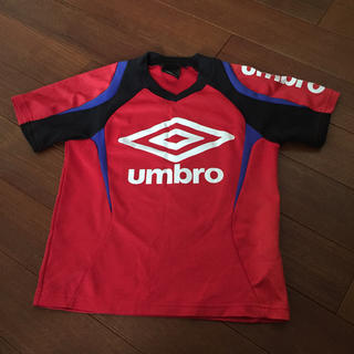 アンブロ(UMBRO)のアンブロ サッカー プラクティスシャツ 120(Tシャツ/カットソー)