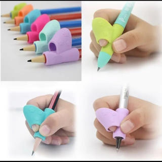 « 新品未使用»鉛筆持ち方 矯正 鉛筆矯正 オレンジ(鉛筆)