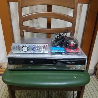 パナソニック(Panasonic)の12年W録完動品!パナソニックVHS/HDD/DVDレコーダDMR-XW40V(DVDレコーダー)