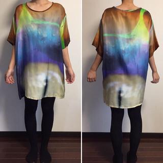 スビ(ksubi)のksubi tsubi ビッグTシャツ Tシャツワンピース(Tシャツ(半袖/袖なし))