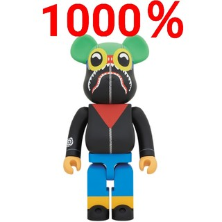 A BATHING APE - HEBRU BRANTLEY SOCIAL STATUS BE@RBRICK