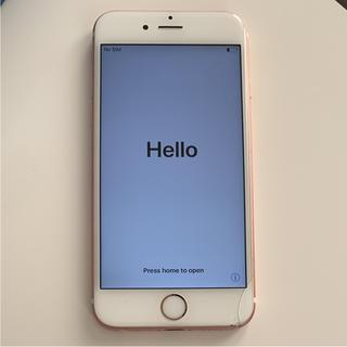 アイフォーン(iPhone)のiPhone 6s Rose Gold 64 GB  (スマートフォン本体)