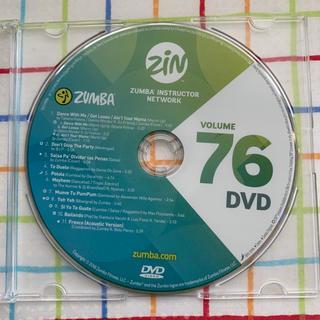 ズンバ(Zumba)のズンバ ZUMBA ZIN76  DVD ダンス(ダンス/バレエ)