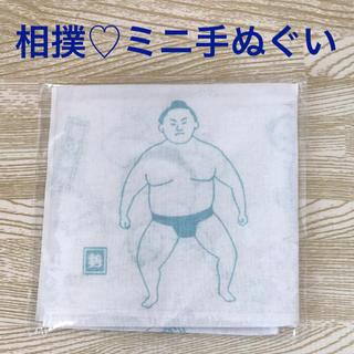 【非売品】相撲 ミニ手ぬぐい(相撲/武道)