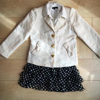 オリンカリ(OLLINKARI)の【卒園式入学式】女の子120スーツ(ドレス/フォーマル)
