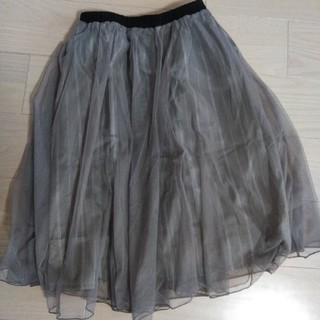 シマムラ(しまむら)のチュールスカート(ひざ丈スカート)