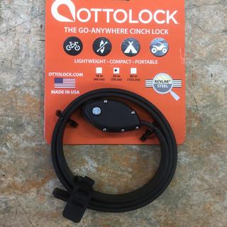OTTO LOCK 自転車用鍵 76cm ブラック(パーツ)