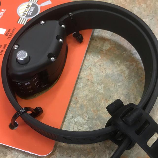OTTO LOCK 自転車用鍵 46cm ブラック 日本語説明書付き スポーツ/アウトドアの自転車(パーツ)の商品写真