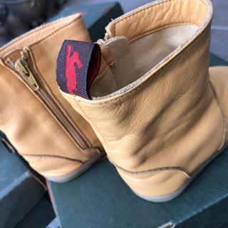 ズーム(Zoom)のブーツ!人気のZOOM(ズーム)ペコス キャメル皮∥革13.5cm(ブーツ)
