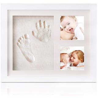 手形 赤ちゃん 足形 ベビーフレーム 出産祝い 安全粘土(手形/足形)