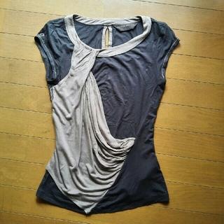 カレンミレン(Karen Millen)のKaren Millen グレー シャツ(Tシャツ(半袖/袖なし))