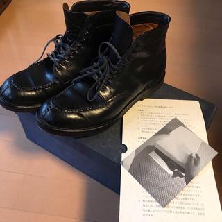 オールデン(Alden)のオールデン1999年製ビンテージブーツ黒26.5cmコードバンAlden(ブーツ)