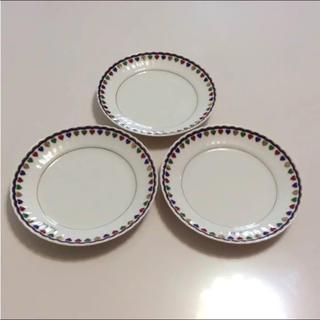 ニナリッチ     丸皿  3枚