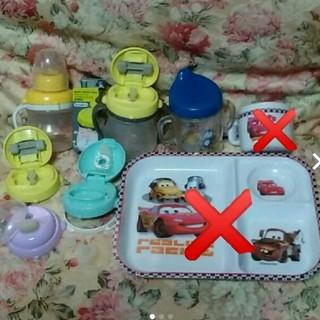 ディズニー(Disney)の処分☆カーズのベビー食器とteteoマグマグセット(離乳食器セット)