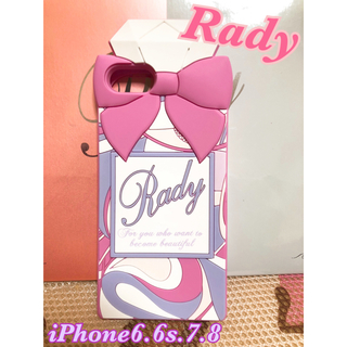 レディー(Rady)のRady iPhoneケース(iPhoneケース)