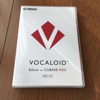 ヤマハ(ヤマハ)のVOCALOID Editor for CUBASE NEO(DAWソフトウェア)
