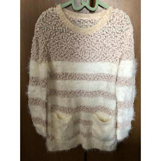 バックナンバー(BACK NUMBER)のセーター女児130(ニット)