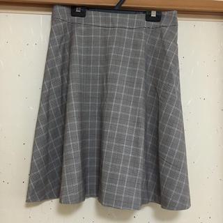 any sis 秋冬チェック柄スカート