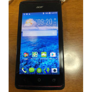 エイサー(Acer)の美品 SIMフリー Acer Liquid Z200 スマホ(スマートフォン本体)