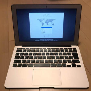 マック(Mac (Apple))のMacBook Air (11-inch, Early 2014) ジャンク(ノートPC)