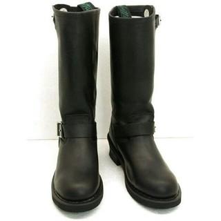 ゲッタグリップ(GETTA GRIP)の新品ゲッタグリップ Getta Grip ロング エンジニアブーツ 黒 本革  (ブーツ)
