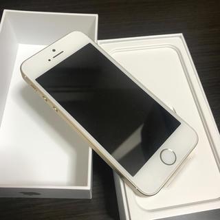 アイフォーン(iPhone)のiPhoneSE  ゴールド  32GB(スマートフォン本体)