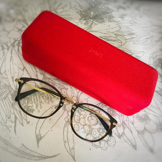 ジンズ(JINS)のjins☆クラシック アセテート&メタル  伊達眼鏡(サングラス/メガネ)