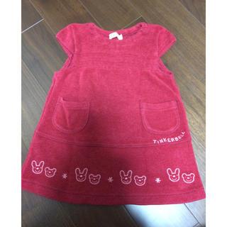 ティンカーベル(TINKERBELL)の子供服ワンピース(ワンピース)
