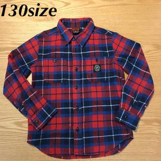 オイル(OIL)のOIL CLOTHING SERVICE ネルシャツ 130サイズ(その他)