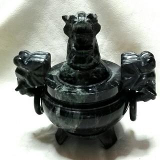大理石  龍の香炉(お香/香炉)
