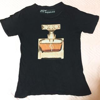 ジョイリッチ(JOYRICH)のJOYRICH ジョイリッチ Tシャツ 半袖 香水 黒(Tシャツ(半袖/袖なし))