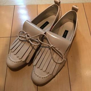 ザラ(ZARA)の新品 ZARA BASIC ローファー(ローファー/革靴)