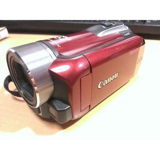 キヤノン(Canon)のビデオカメラ Canon iVIS HF R10 レッド 8GB(ビデオカメラ)
