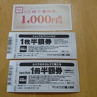 キタムラ(Kitamura)のスタジオマリオ  優待券(その他)