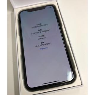 アイフォーン(iPhone)の【修理交換品】iPhone X 256GB docomo(スマートフォン本体)