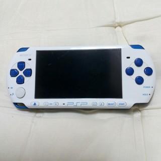 プレイステーションポータブル(PlayStation Portable)のpsp3000本体 ホワイトブルー(携帯用ゲーム本体)