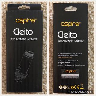 アスパイア(aspire)の【新品】5個入り5箱セット Aspire Cleito 0.4Ω 取替え用コイル(タバコグッズ)