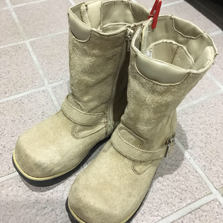 ジーティーホーキンス(G.T. HAWKINS)のABCマートで購入 HAWKINS ベージュのブーツ 20センチ 送料込み(ブーツ)