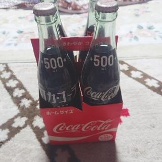コカコーラ(コカ・コーラ)のコカ.コーラ ビンホームサイズ(ソフトドリンク)
