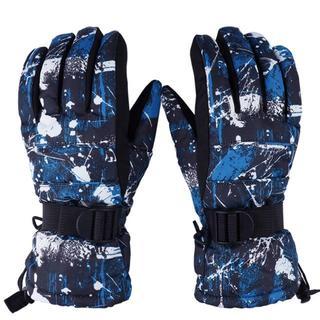 スキーグローブ スノーボードグローブ スキー手袋 登山 防寒  防水 保温(その他)