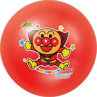 アンパンマン カラフル6号ボール オレンジ(ボール)