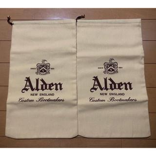 オールデン(Alden)の新品未使用 Alden シューズケース 値下げ不可(その他)