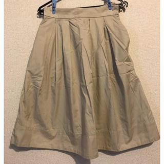 オペークドットクリップ(OPAQUE.CLIP)の膝丈スカート(ひざ丈スカート)