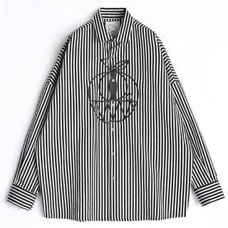 シャリーフ(SHAREEF)のshareef 18ss stripe l/s big shirts(シャツ)