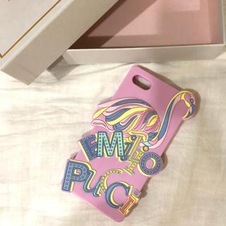 エミリオプッチ(EMILIO PUCCI)のエミリオプッチ iPhone7 シリコン(iPhoneケース)