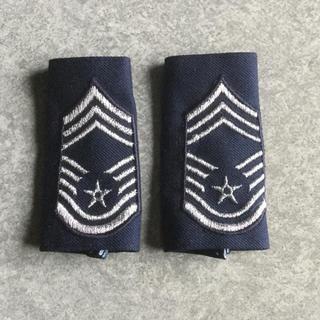 自衛隊・米軍    アメリカ空軍階級章(上級曹長)(ミリタリー)