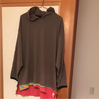 アレキサンダーリーチャン(AlexanderLeeChang)のアレキサンダーリーチャン  フードロンT(Tシャツ/カットソー(七分/長袖))